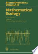 Mathematical Ecology