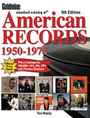 Goldmine Standard Catalog of American Records Book PDF