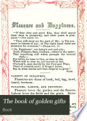 The book of golden gifts Book