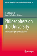 Philosophers on the University