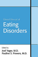 Clinical Manual of Eating Disorders