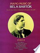 Piano Music Of B La Bart K Book