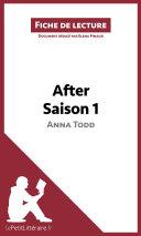 After d'Anna Todd - Saison 1 (Fiche de lecture) ebook