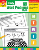 Daily Word Problems  Grade 1 Book