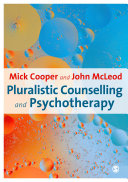 Pluralistic Counselling and Psychotherapy
