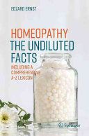 Homeopathy   The Undiluted Facts