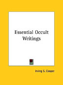 Essential Occult Writings