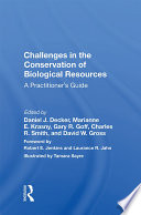Challenges In The Conservation Of Biological Resources