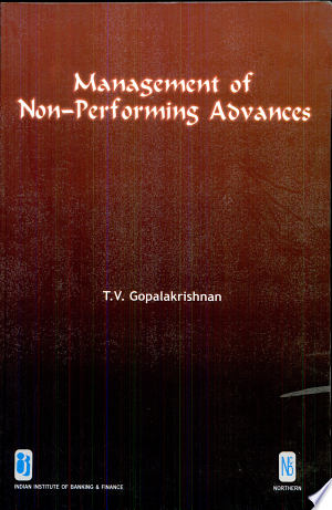 Management+of+Non-performing+AdvancesThe book deals with the problem of Non-Performing Advances (NPAs) in public sector banks and its impact on the banks' books, banking and financial system of the economy. Recognizing the inevitable and festering nature of the problem, the author has come out, inter alia, with a statistical model as an innovative, simple and practical solution to contain NPA formation to ensure a strong balance sheet for banks and improved image of the borrowers. The author claims that the solution will prove to be a win-win situation for all stakeholders of banks including the economy, and its constituents Government, shareholders, depositors, borrowers, employees and others. Salient Features Changes brought about in banks under Banking Sector Reforms. • Emergence of NPAs in banks. • Problem of NPAs: Its causes and effects. • Performance of Public sector banks on management of NPAs. • Impact of NPAs on the economy, banks' balance sheets and profit and loss accounts. • Suggestions to contain NPAs from the angles of banks, borrowers, Government, Regulator and others. • A Statistical Model developed to contain formation of NPAs, strengthen banks' balance sheets and develop an emotional rapport between banks and borrowers.
