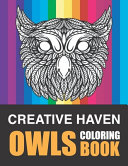 Creative Haven Owls Coloring Book