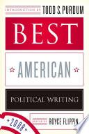 Best American Political Writing 2008