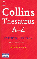 Collins Thesaurus A Z