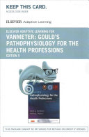 Elsevier Adaptive Learning for Gould's Pathophysiology for the Health Professions