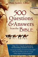 Free 500 Questions & Answers from the Bible Book