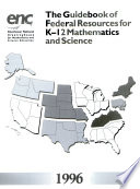 The Guidebook Of Federal Resources For K 12 Mathematics And Science