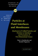 Particles at Fluid Interfaces and Membranes