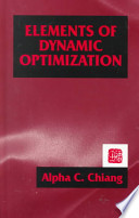 Elements of Dynamic Optimization