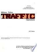 Military Police Traffic Operations
