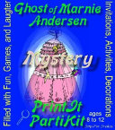 Ghost of Marnie Mystery Party Kit for 8  10 and 12 Girls