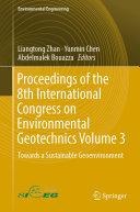 Proceedings of the 8th International Congress on Environmental Geotechnics Volume 3