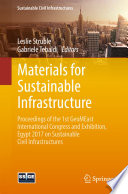 Materials For Sustainable Infrastructure