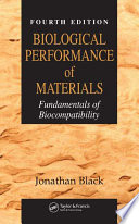 Biological Performance of Materials Book