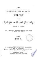 The fifty first   136th  annual report of the Religious tract society