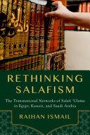 Rethinking Salafism Pdf/ePub eBook