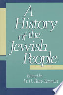 """A History of the Jewish People"" by Abraham Malamat, Haim Hillel Ben-Sasson, Hayim Tadmor"