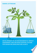 Development Of An Environmental Impact Assessment And Decision Support System For Seawater Desalination Plants Book PDF