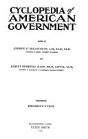 Cyclopedia of American Government