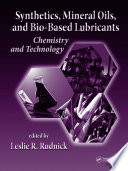 Synthetics Mineral Oils And Bio Based Lubricants Book PDF