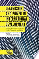 Leadership and Power in International Development