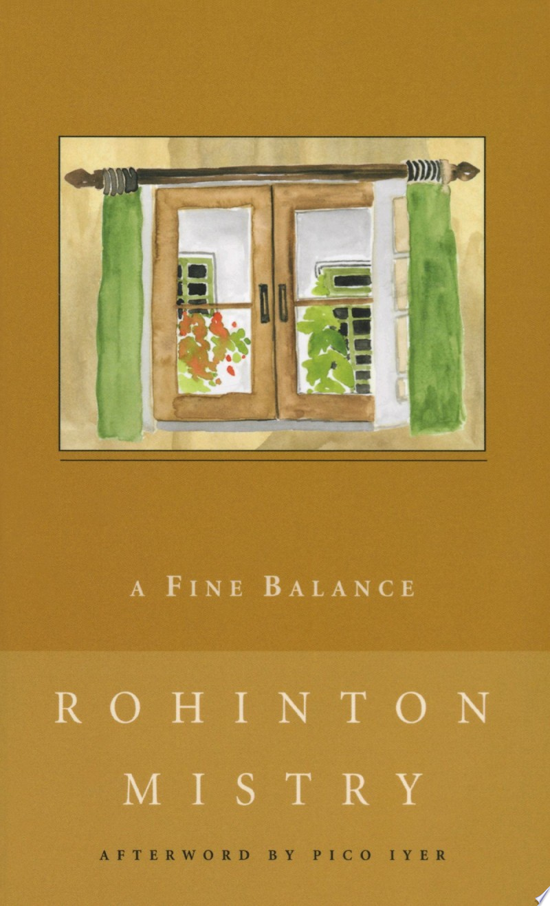 A Fine Balance image