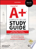 """CompTIA A+ Complete Deluxe Study Guide: Exam Core 1 220-1001 and Exam Core 2 220-1002"" by Quentin Docter"