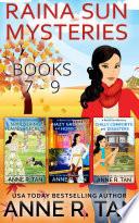 Raina Sun Mystery Boxed Set Vol 3  Books 7   9  Book