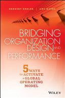 Bridging Organization Design and Performance Pdf/ePub eBook