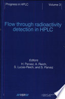 Flow Through Radioactivity Detection in Hplc Book
