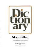 Macmillan Dictionary Book PDF