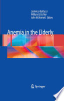 Anemia in the Elderly Book