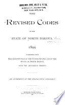 The Revised Codes of the State of North Dakota, 1899