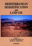 Mediterranean Desertification and Land Use Book