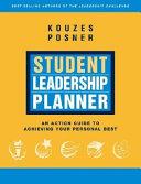 Student Leadership Planner Book