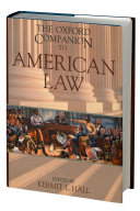 The Oxford Companion To American Law Book PDF