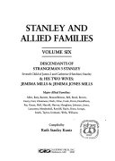 Stanley and Allied Families: Descendants of Strangeman 3 ...