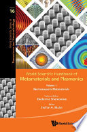 World Scientific Handbook Of Metamaterials And Plasmonics (In 4 Volumes)