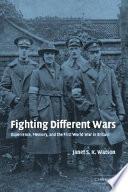 Fighting Different Wars