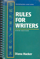 Rules for Writers 5e   Comment for Rules for Writers 5e Book
