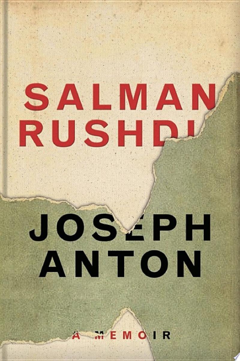 Joseph Anton banner backdrop