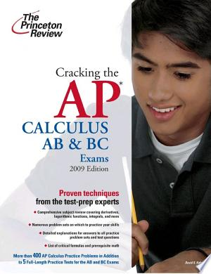 Download Cracking the AP Calculus AB & BC Exams Free Books - New Bestseller Books